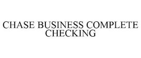 CHASE BUSINESS COMPLETE CHECKING
