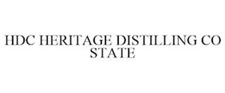 HDC HERITAGE DISTILLING CO STATE