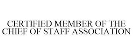 CERTIFIED MEMBER OF THE CHIEF OF STAFF ASSOCIATION