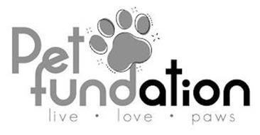 PET FUNDATION LIVE· LOVE· PAWS