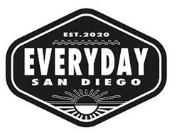 EST.2020 EVERYDAY SAN DIEGO