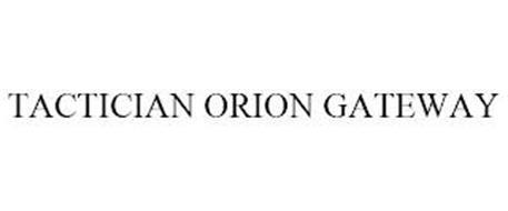 TACTICIAN ORION GATEWAY