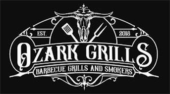 OZARK GRILLS EST. 2018 BARBECUE GRILLS AND SMOKERS