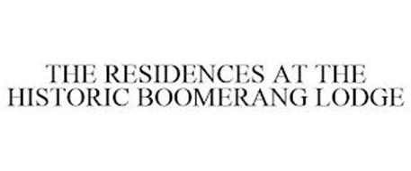 THE RESIDENCES AT THE HISTORIC BOOMERANG LODGE