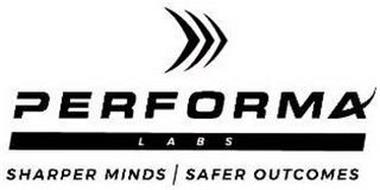 PERFORMA LABS SHARPER MINDS SAFER OUTCOMES
