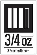 3/4 OZ 3FOURTHSOZ.COM