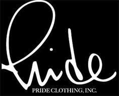 PRIDE PRIDE CLOTHING, INC.