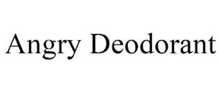ANGRY DEODORANT