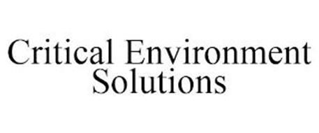 CRITICAL ENVIRONMENT SOLUTIONS