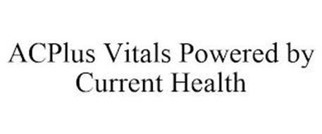 ACPLUS VITALS POWERED BY CURRENT HEALTH