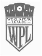 WORLD PONG LEAGUE WPL