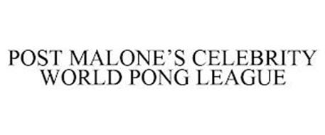 POST MALONE'S CELEBRITY WORLD PONG LEAGUE