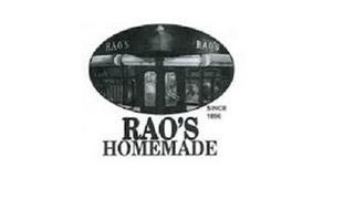 RAO'S HOMEMADE SINCE 1896