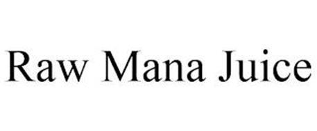 RAW MANA JUICE