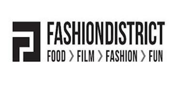 FD FASHION DISTRICT FOOD FILM FASHION FUN