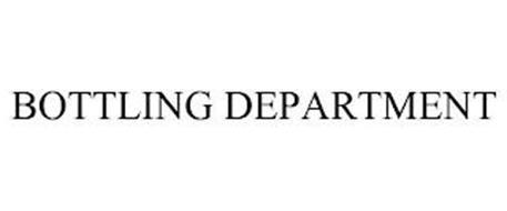 BOTTLING DEPARTMENT
