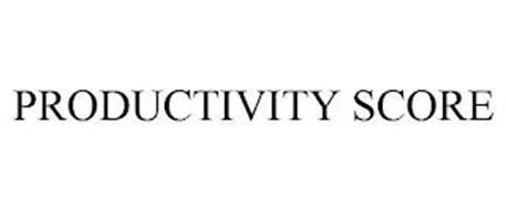PRODUCTIVITY SCORE