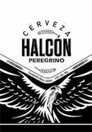 CERVEZA, HALCÓN, PEREGRINO, CONTENIDO NETO: 350 ML. 4.9% ALC./VOL.