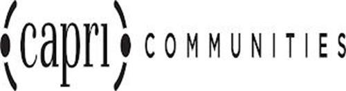CAPRI COMMUNITIES