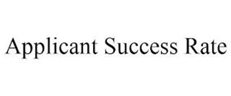 APPLICANT SUCCESS RATE