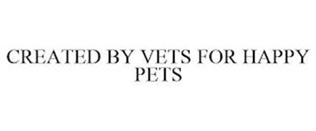 CREATED BY VETS FOR HAPPY PETS