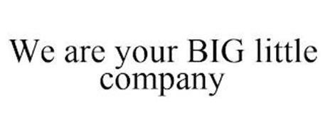 WE ARE YOUR BIG LITTLE COMPANY