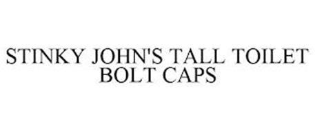STINKY JOHN'S TALL TOILET BOLT CAPS