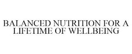 BALANCED NUTRITION FOR A LIFETIME OF WELLBEING