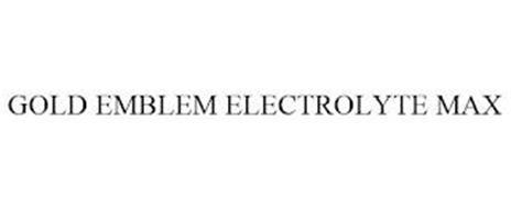 GOLD EMBLEM ELECTROLYTE MAX