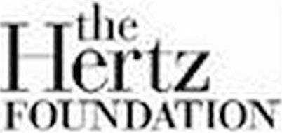 THE HERTZ FOUNDATION