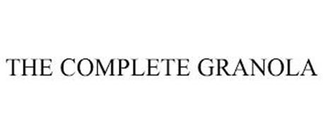 THE COMPLETE GRANOLA
