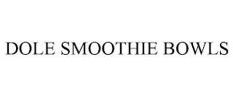 DOLE SMOOTHIE BOWLS