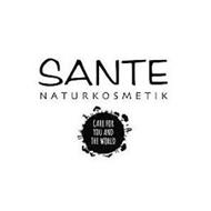 SANTE NATURKOSMETIK CARE FOR YOU AND THE WORLD