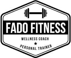 FADO FITNESS WELLNESS COACH PERSONAL TRAINER