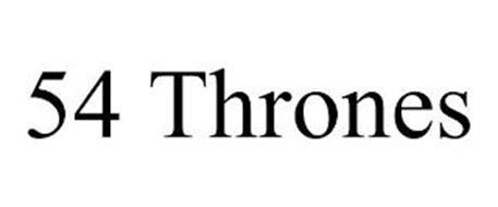 54 THRONES