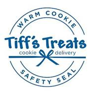 WARM COOKIE SAFETY SEAL TIFF'S TREATS COOKIE DELIVERY