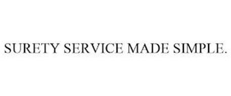 SURETY SERVICE MADE SIMPLE.