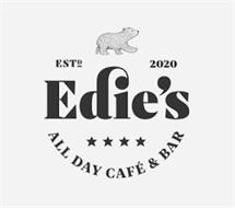 EST D 2020 EDIE'S ALL DAY CAFE & BAR