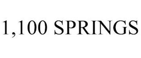 1,100 SPRINGS