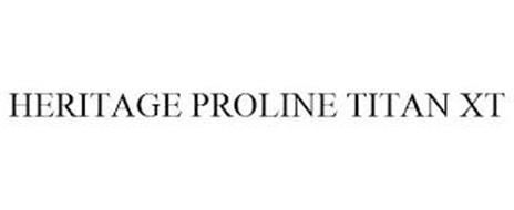 HERITAGE PROLINE TITAN XT
