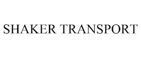 SHAKER TRANSPORT