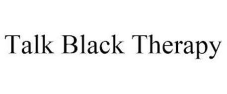 TALK BLACK THERAPY