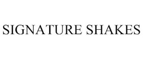 SIGNATURE SHAKES