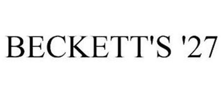 BECKETT'S '27