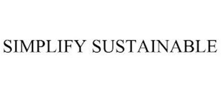 SIMPLIFY SUSTAINABLE