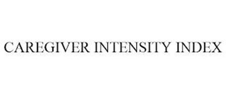 CAREGIVER INTENSITY INDEX