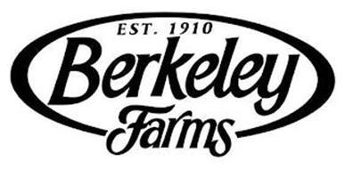 EST. 1910 BERKELEY FARMS