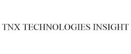 TNX TECHNOLOGIES INSIGHT