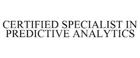 CERTIFIED SPECIALIST IN PREDICTIVE ANALYTICS