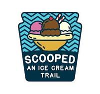 SCOOPED AN ICE CREAM TRAIL